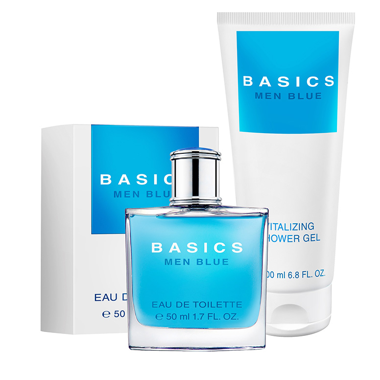 Basics Men Blue